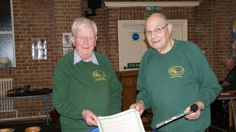 Honarary Member Award 2018 - George Morrison and Richard Smith