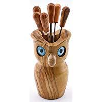 Owl cocktail stick holder